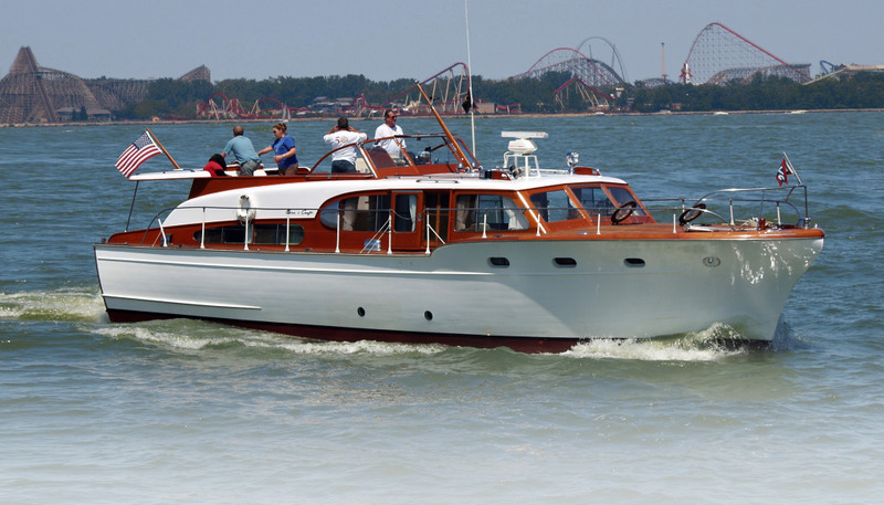 Cool Auction Gift 54 Foot Restored Chriscraft Yacht