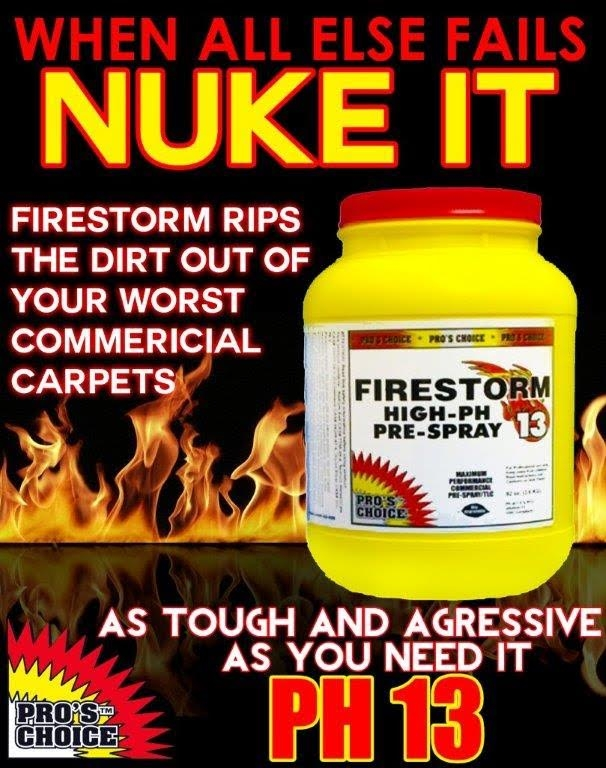Firestorm High PH prespray.