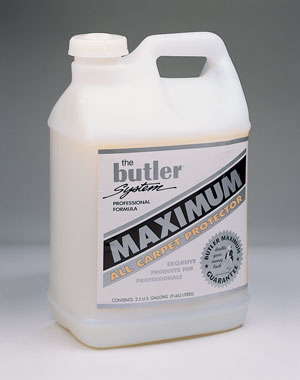 Butler Maximum All Carpet Protector With Dupont Zony Volume Discount