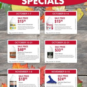 Interlink Supply weekly specials